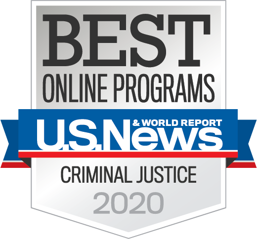 U.S. News Ranking Badge - Criminal Justice